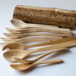 Löffelsammlung Haselnussholz