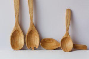 Holzlöffel aus Olivenholz